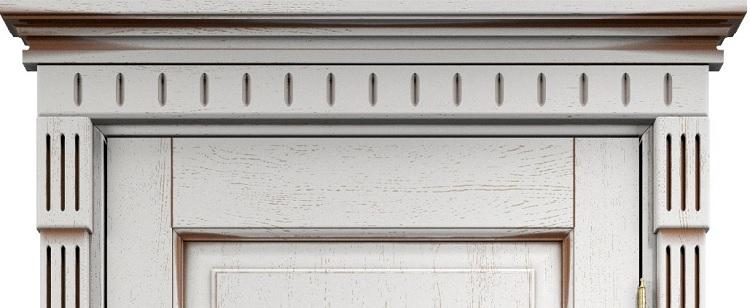 Капители, карнизы, фигурные наличники для межкомнатных дверей